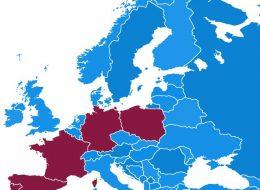 ヨーロッパのブルーベリー主要生産国